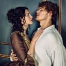 Caitriona Balfe and Sam Heughan - Outlander 2 Season - Entertainment Weekly Magazine Pictorials [United States] (4 March 2016) - 454 x 544