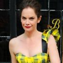 Ruth Wilson – Leaves The Bowery Hotel in New York