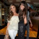 Chelsee Healey and Jennifer Metcalfe – Night out at The Ivy in Manchester - 454 x 681