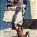 Jerry Hall - Harpers Bazaar Magazine Pictorial [United States] (December 1980) - 454 x 579