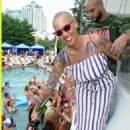 Amber Rose Hosts Liquid Sundays at the Foxwoods Resort Casino in Mashantucket, Connecticut - July 23, 2017