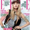 Elsa Hosk - Elle Magazine Cover [Sweden] (August 2017)