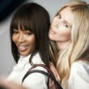 Naomi Campbell and Claudia Schiffer for Tommy Hilfiger Breast Health International 2013