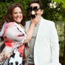 Melissa McCarthy, Ben Falcone - Redbook Magazine Pictorial [United States] (July 2014) - 454 x 676
