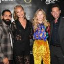 "Connie Nielsen attends pre-screening cocktail reception for the world premiere film, ""Sea Fever"" at Pick 6ix Sports on September 05, 2019 in Toronto, Canada"