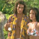 Stacy Kamano and Jason Momoa in Twentieth Century Fox's action movie Baywatch: Hawaiian Wedding - 2003