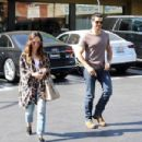 Cara Santana and Jesse Metcalfe are seen