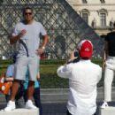 Jennifer Lopez and Alex Rodriguez Out in Paris - 454 x 303
