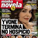 Letícia Sabatella, India - A Love Story - Minha Novela Magazine Cover [Brazil] (7 August 2009)