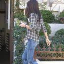 Megan Fox - candids in LA on Jan. 25 2011