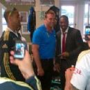 Yohan with Jacques Kallis