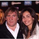 Gérard Depardieu and Inés Sastre