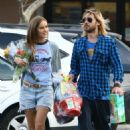 Isabel Lucas and Jared Leto