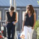 Cindy Crawford and Kaia Gerber – Shopping at Trancas Market in Malibu