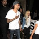 Blac Chyna. Tyga. Chris Brown and Karrueche at The Supperclub in Hollywood, California - June 5, 2012