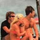 Geri Halliwell and Robbie Williams