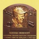 Rogers Hornsby Hall of Fame Plaque - 258 x 411