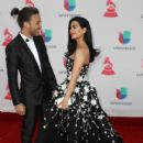 Prince Royce and Emeraude Toubia- The 17th Annual Latin Grammy Awards - Show - 411 x 600