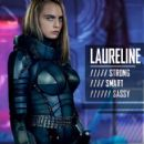 Cara Delevingne as Sergeant Laureline in Valerian and the City of a Thousand Planets - 454 x 421