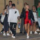 Hailey Baldwin and Justin Bieber – Leaves Nobu in Malibu