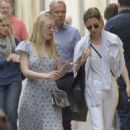Dakota Fanning out in Rome