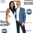 Chester Bennington and Talinda Bentley - 395 x 594