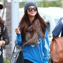 Selena Gomez with girlfriends in Beverly Hills, Ca January 24th,2013 - 450 x 594