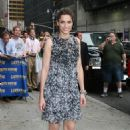 "Amanda Peet - Arrives At The ""Late Show With David Letterman"" At The Ed Sullivan Theatre In New York City, 22.07.2008."