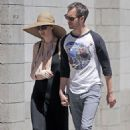 Anne Hathaway with fiance Adam Shulman in Brookyln, NY (June 3)