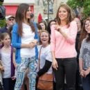 Victoria Justice had quite the interview with Extra today, March 26, at The Grove in Los Angeles
