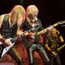Judas Priest live on October 6, 2014 at Bell Centre, Montreal, Canada - 454 x 303