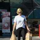 Charlize Theron – Shopping candids in Los Angeles - 454 x 619