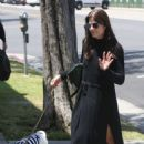 Selma Blair in Long Black Dress out in Beverly Hills - 454 x 681