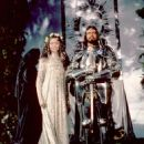 Nigel Terry and Cherie Lunghi
