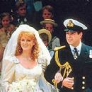 Prince Andrew Duke of York and Sarah Ferguson - 454 x 284