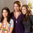 America Ferrera, Diana-Maria Riva and Anjelah Johnson in OUR FAMILY WEDDING ; Photo by Scott Garfield