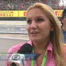 Julia at F1 GP Brazil 2011