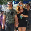 Joe Jonas out in SoHo with his girlfriend, Blanda Eggenschwiler (August 25)