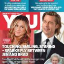 Brad Pitt and Jennifer Aniston - You Magazine Cover [South Africa] (6 February 2020)