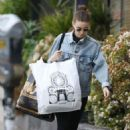 Rooney Mara in Tights – Shopping in West Hollywood