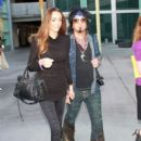 "Nikki Sixx and Courtney Bingham at the Premiere of ""God Bless Ozzy Osbourne"""