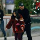 Kourtney Kardashian – Ice skating at a Christmas party in Thousand Oaks