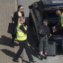 Angelina Jolie at London's Heathrow airport (May 17, 2018) - 454 x 441