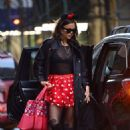 Irina Shayk – Spotted out in NYC