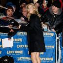 Kate Hudson - Visits ''Late Show With David Letterman'' In New York 10.12.2009