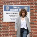 Jennifer Lopez on the set of 'Shades of Blue' in NYC - 454 x 701