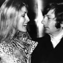 Roman Polanski and Sharon Tate - 454 x 330