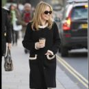 Kylie Minogue out in London, 24.11.10