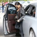 Kim Kardashian spotted out for lunch at Cafe Vega in Sherman Oaks, California on February 8, 2017 - 454 x 573