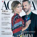 Tiago Monteiro and Diana Pereira